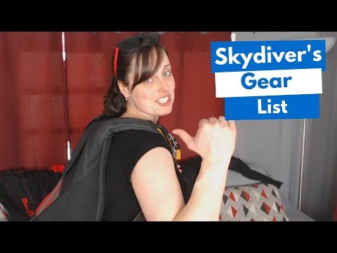 Skydiving Gear - What's In A Skydiver Gear Bag? (6 Things)
