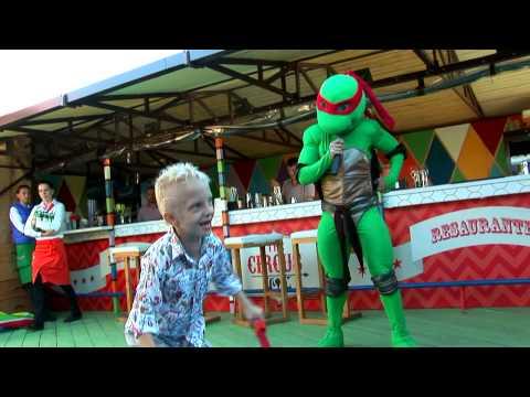 Мише 6 в Цирке, празднуем с Черепашкой Ниндзя
