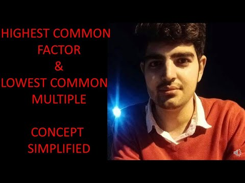 HCF or HIGHEST COMMON FACTORS/GCD or GREATEST COMMON DIVISOR || How to find the HCF/GCD?? from YouTube · Duration:  5 minutes 19 seconds