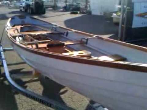 whitehall skiff i saw at backyard boats