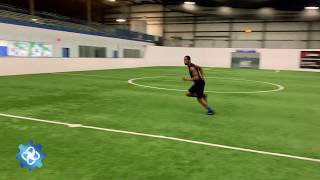 The Drill Factory: Wide Receiver Route Training - Post Dig