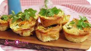 Quiche Im Mini-format | Sweet & Easy - Enie Backt | Sixx