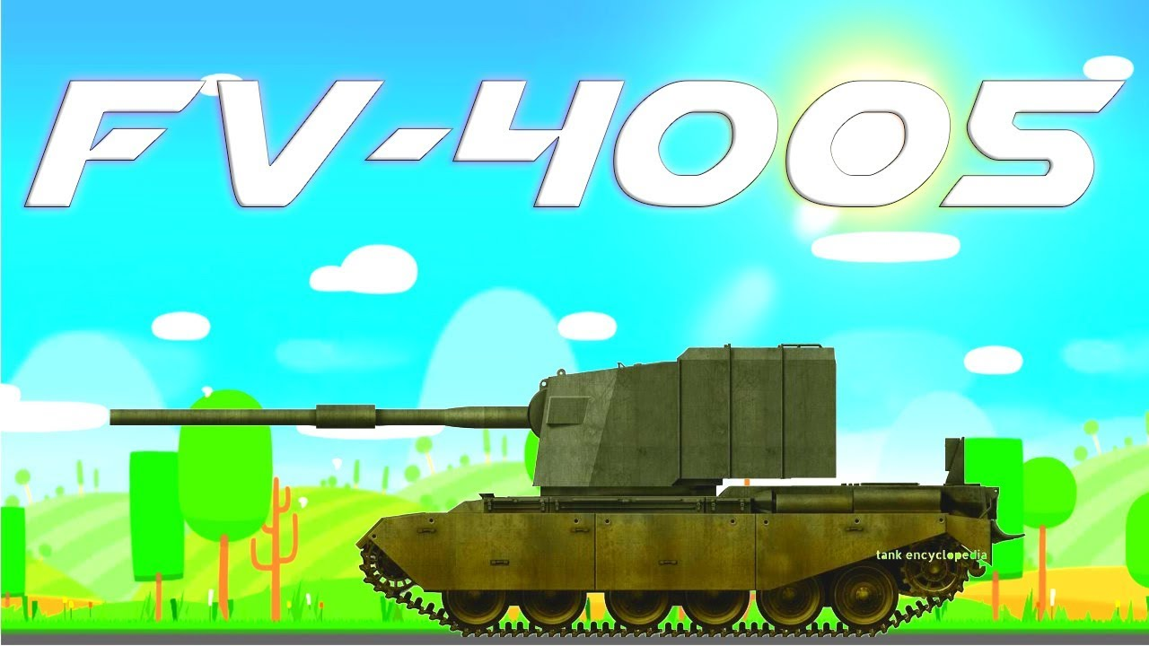 Super Tank Rumble Creations - FV 4005 Stage 2 Tank Destroyer