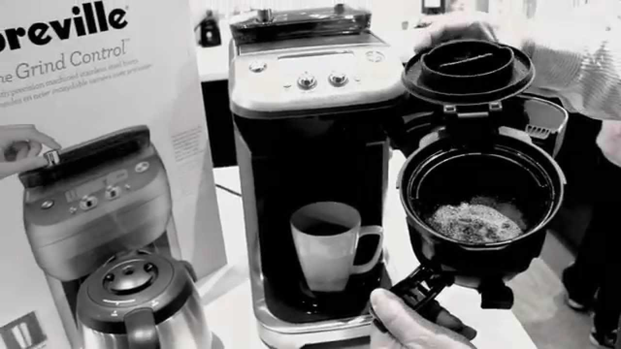 Breville Coffee Maker Grinder Not Working : The New Breville Grind Control Grind & Brew! - YouTube