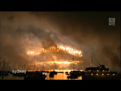 2014-2015 Sydney New Year's Eve Midnight Fireworks