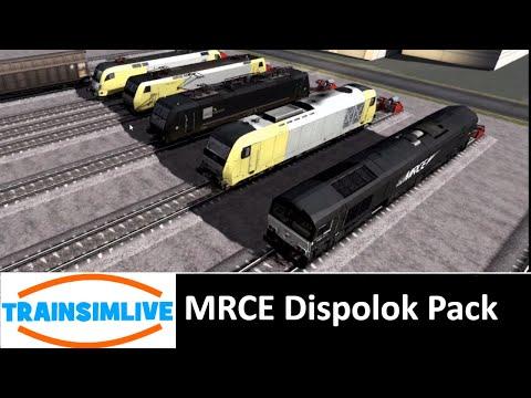 Train Simulator 2018 - MRCE Dispolok Pack Overview |