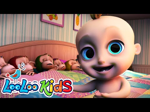 Ten in a Bed  Fun Songs for Children  LooLoo Kids