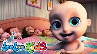 Ten in a Bed - Fun Songs for Children | LooLoo Kids