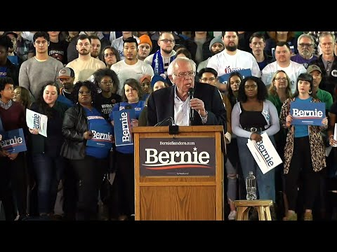 Sanders blasts Trump and Bloomberg