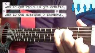 Aprende a Tocar - Amo - Axel Fernando - rasgueo y acordes - en guitarra muy facil