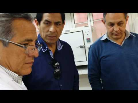 WOGI's Product PRS being tested in Peru's UNI  National University Lab on September 15 2015