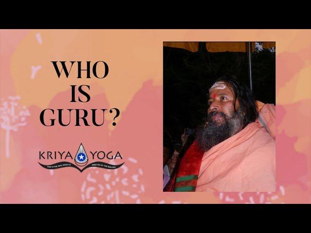 Who Is Guru?
