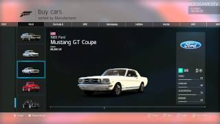 All Cars From Forza Motorsport 6 (08.09.2015)