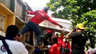 40 sa mahigit 70 biktima ng sunog sa Valenzuela City, nailibing na