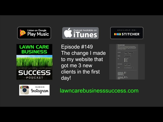 Episode #149 The change to my website that got me 3 new clients in the first day! (podcast audio)
