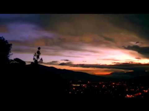 1moment nature deep city lights south america night travel