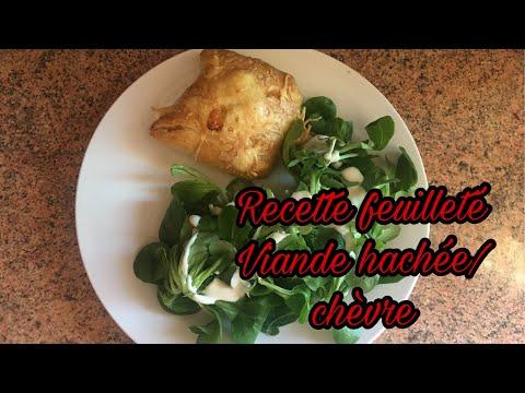 [recette-#4]-recette-facile-:-feuilletÉ-viande-hachÉe-/-fromage-de-chÈvre