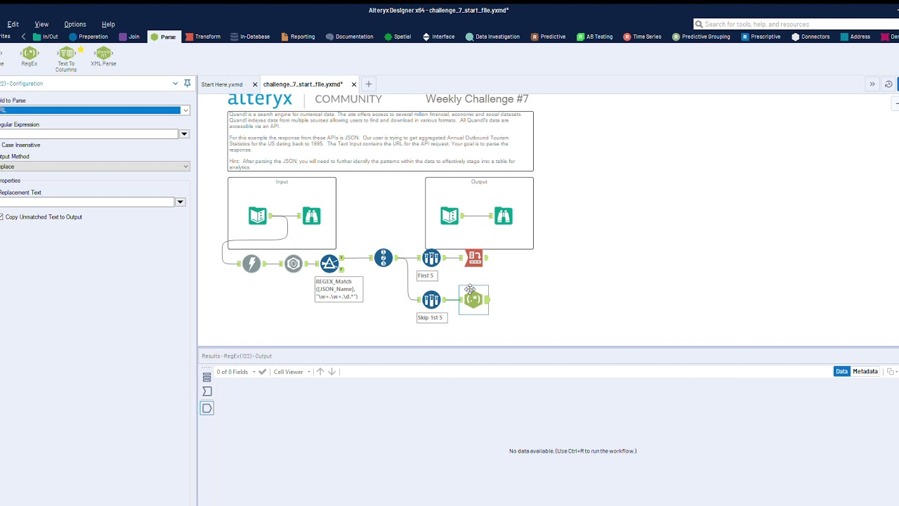 How to Download Data and Parse JSON with Alteryx - Data Driven
