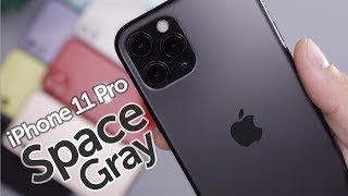Space Gray iPhone 11 Pro Unboxing & First Impressions!