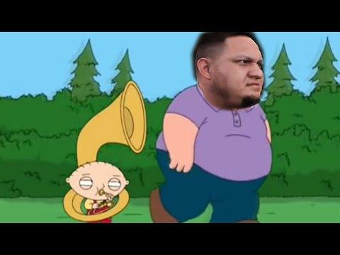 "Samoa Joe ""Tuba"" Entrance ✦ 【WWE 2K16 Future Stars Pack DLC】"