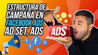 Qué son Campañas, Adsets, Ads en Facebook - Facebook Ads en Español