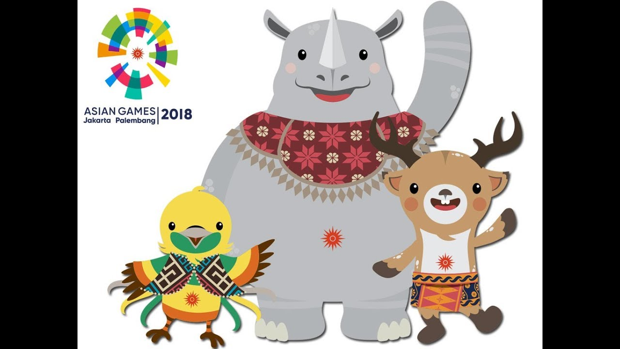 Maskot Asian Games 2018 Bhin Bhin Athung Dan Kaka