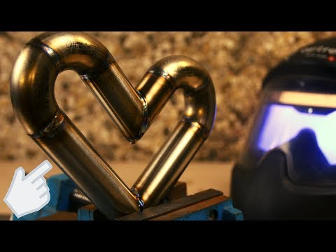 DIY / weld stainless steel heart by M.projects