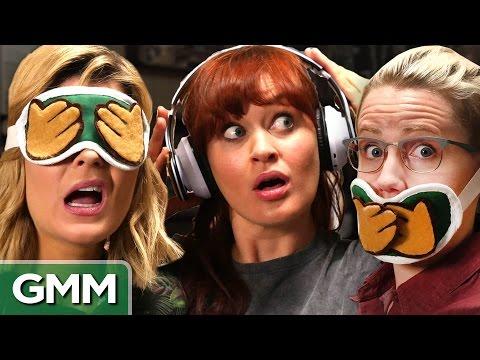 3 Monkeys Challenge ft Grace Helbig, Mamrie Hart and Hannah Hart