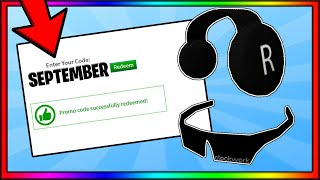 *SEPTEMBER* ALL WORKING PROMO CODES | ROBLOX