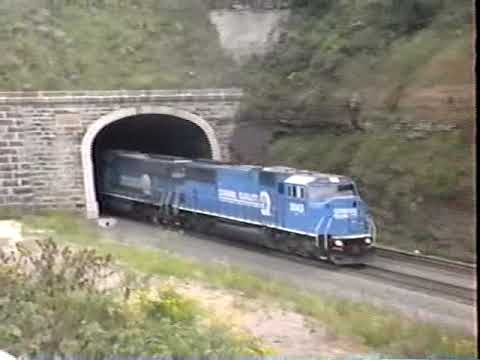 Mountain Railroading in Pennsylvania and Maryland, Sept. 1997