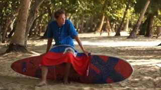 The Haitian Flag and Surfing Haiti - Sam Bleakley