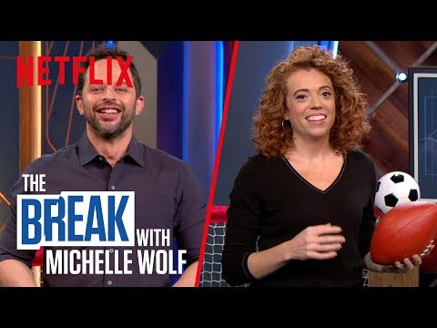 The Break with Michelle Wolf | sports