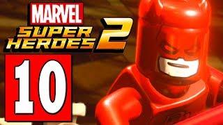 LEGO Marvel Super Heroes 2 Walkthrough Part 10 HELP DAREDEVIL / HELP LUKE CAGE