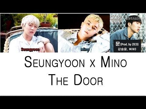 kang seung yoon mino the door color coded lyrics