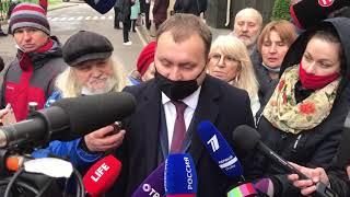 """Экс-адвокат Михаила Ефремова Андрей Алешкин: """"Сократят, безусловно"""""""