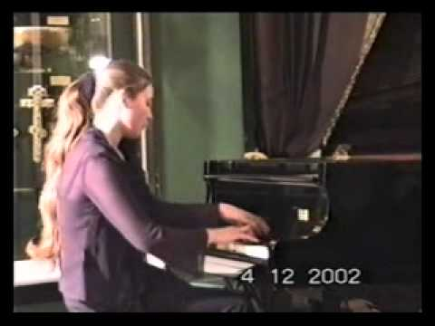 Olga Jegunova plays Ondine by Ravel in Moscow Kremlin