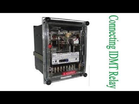 How to make connection for Overcurrent Relay? - YouTube Idmt Relay Wiring Diagram on inverse time overcurrent relay, definite time overcurrent relay, electromechanical relay, earth fault relay, target electro mechanical relay,
