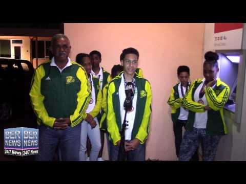 Pacers Track Club Return From Overseas Meet, June 1 2015