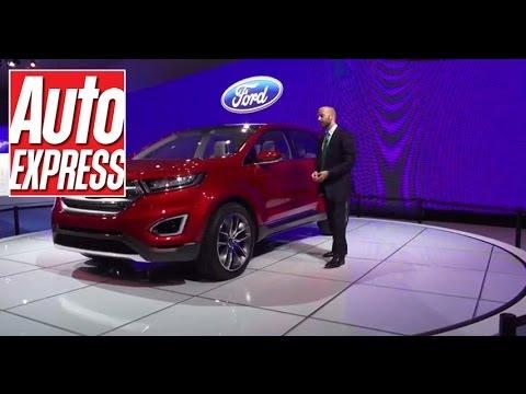 Ford Edge Concept La Motor Show 2013 Youtube
