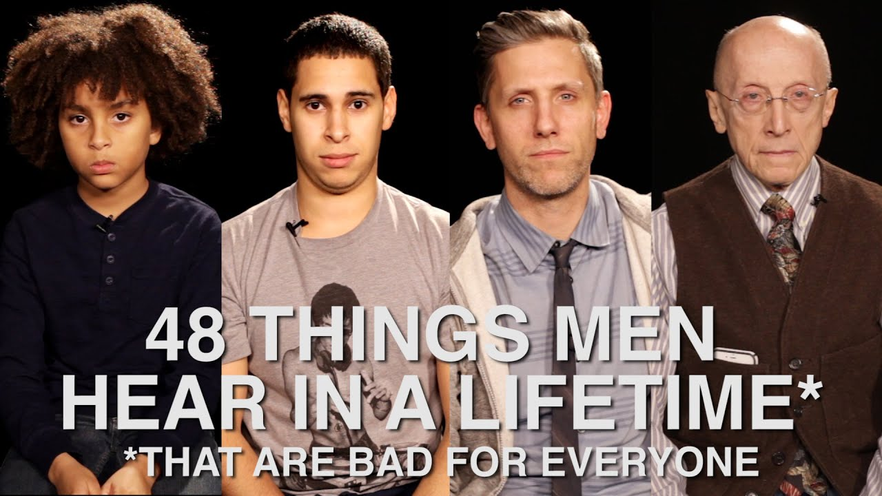 852e19dbbab0 48 Things Men Hear In A Lifetime (That Are Bad For Everyone) - YouTube
