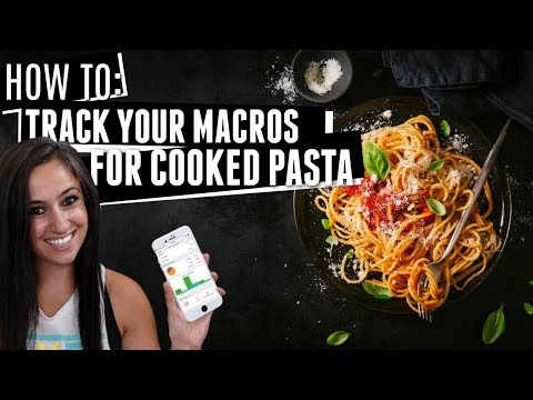 Tracking Macros for Pasta: Dry or Cooked?