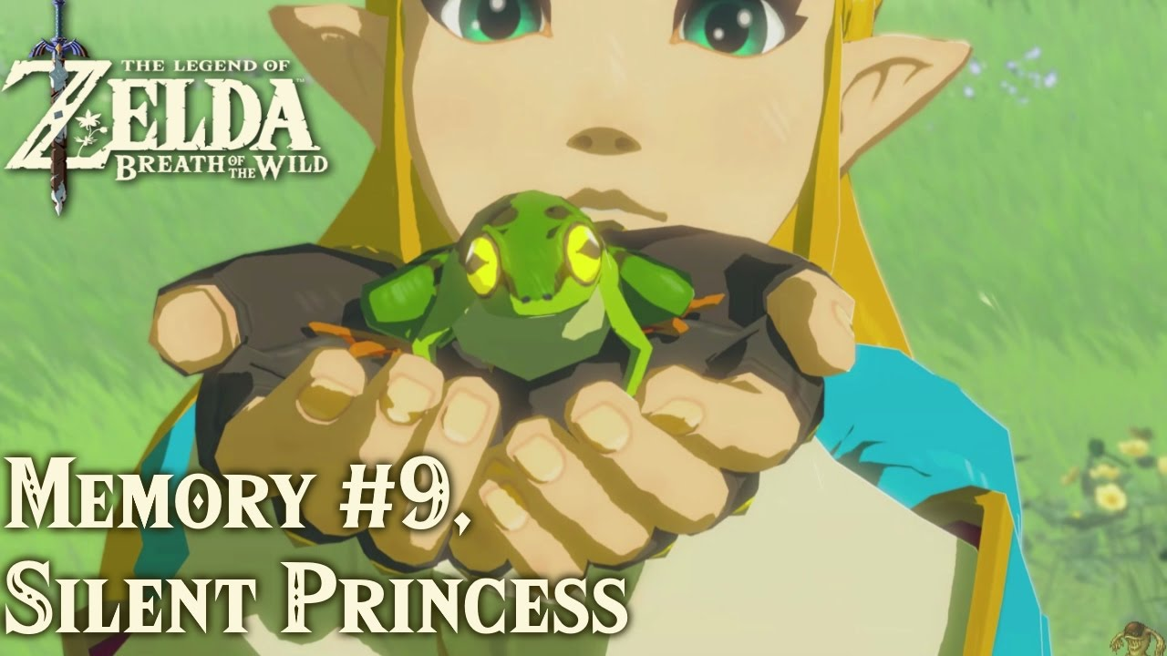 Tloz Breath Of The Wild Silent Princess Memory 9 Youtube