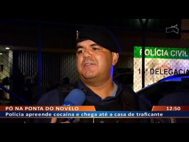DF ALERTA -  Polícia apreende cocaína e chega até a casa de traficante