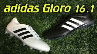 4210f0cf7b7 Adidas Gloro 16.1 Black   White - Review + On Feet - Vloggest