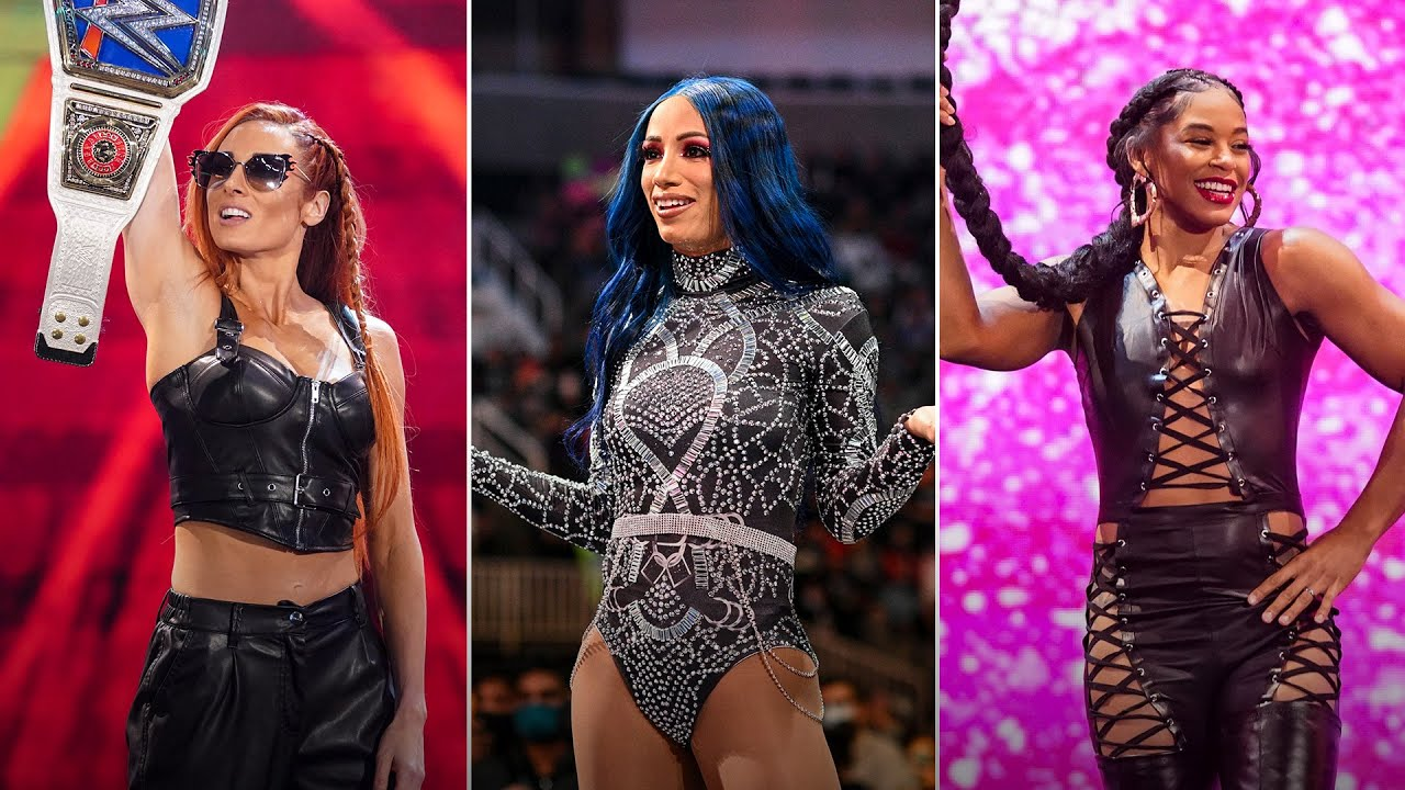 Download Becky Lynch vs. Sasha Banks vs. Bianca Belair – Road to WWE Crown Jewel: WWE Playlist