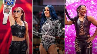 Becky Lynch vs Sasha Banks vs Bianca Belair Road to WWE Crown Jewel WWE Playlist
