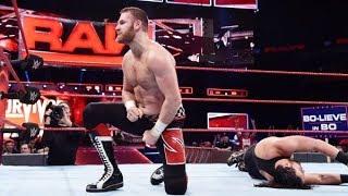 Sami Zayn WWE RAW Tag Team Money in the Bank Championship Match Player