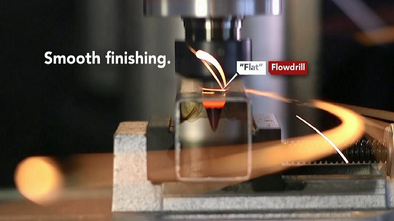 flowdrill thermal friction drilling