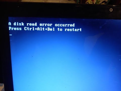 How To Fix A Disk Read Error Occurred Press Ctrl+Alt+Del To Restart Windows 7