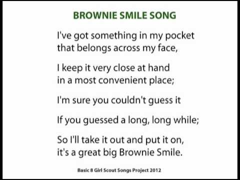 Bright image regarding girl scout daisy song printable